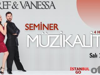 Esref & Vanessa'dan Kızıltoprak'da Kompakt Müzikalite Semineri.