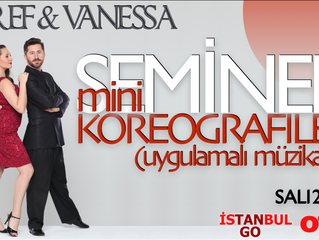 Esref & Vanessa'dan Kızıltoprak'ta SEMINER