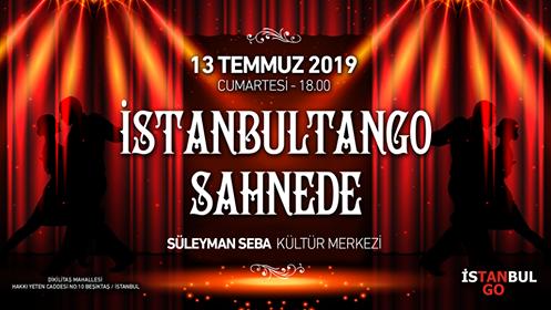 İstanbulTango Tango Kursu Sahne gösterisi afişi
