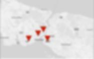 tango kursu istanbul haritası
