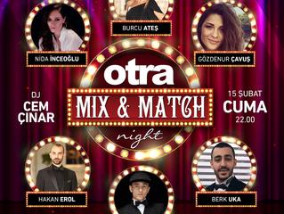 otra Milonga'da Mix and Match gecesi!
