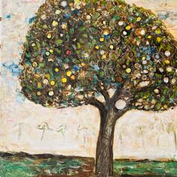 Klimt Apple Tree $500