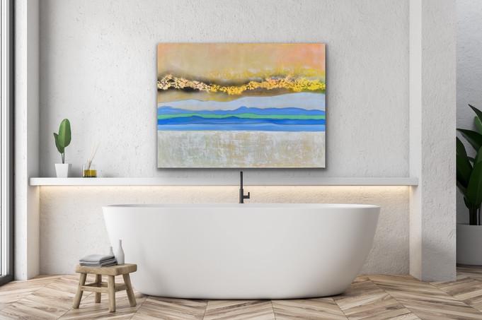 Pastel Landscape $1200