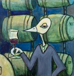 Wine Cave Bird $400