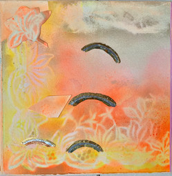 Rosy Sunset with Rainbows $280