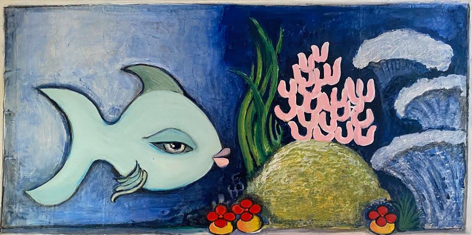 Blue Fish $850
