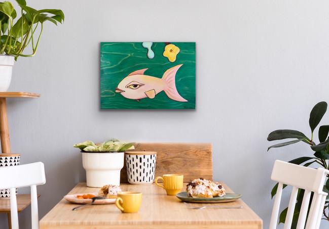 Pink Fish $500
