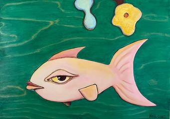 Pink Fish $600