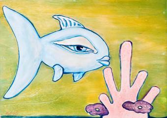 Blue Fish $600