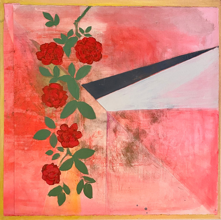 Rose Abstract $600