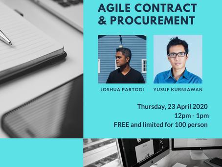 Webinar Agile Contract & Procurement