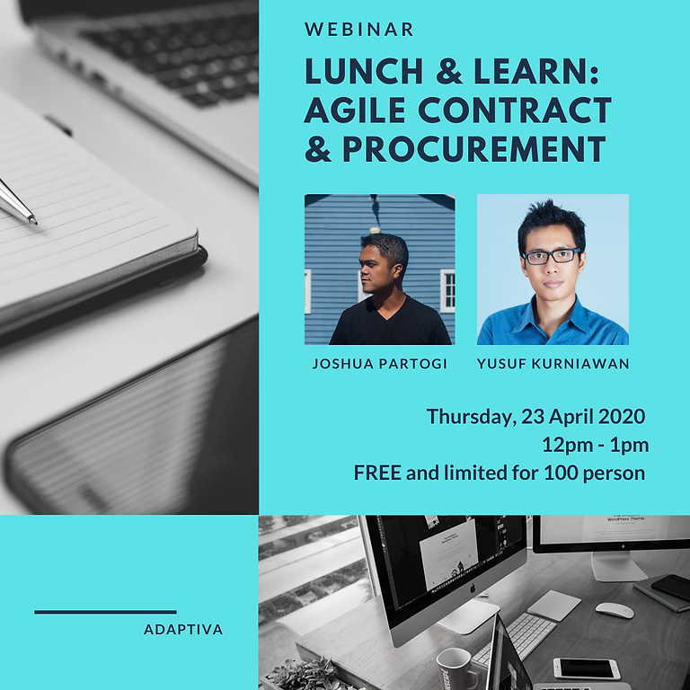 Lunch & Learn: Agile Contract & Procurement