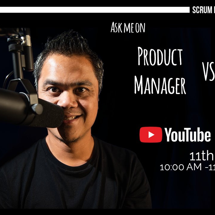 [Live Stream] Ask Me On: Product Owner vs Product Manager