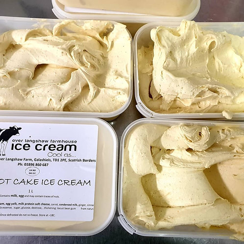 Carrot Cake Ice cream 1L
