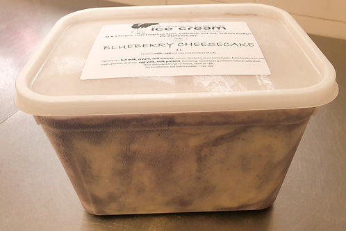 Blueberry Cheesecake 4Litre