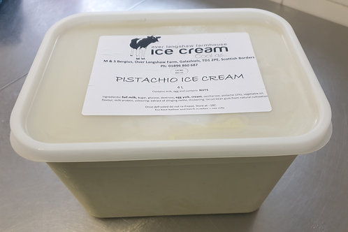 Pistachio Ice cream 4Litre