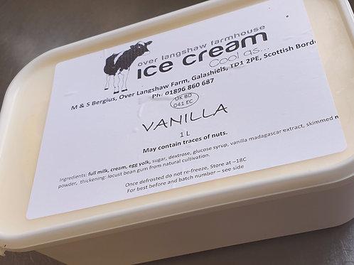 Vanilla Ice cream 1 Litre