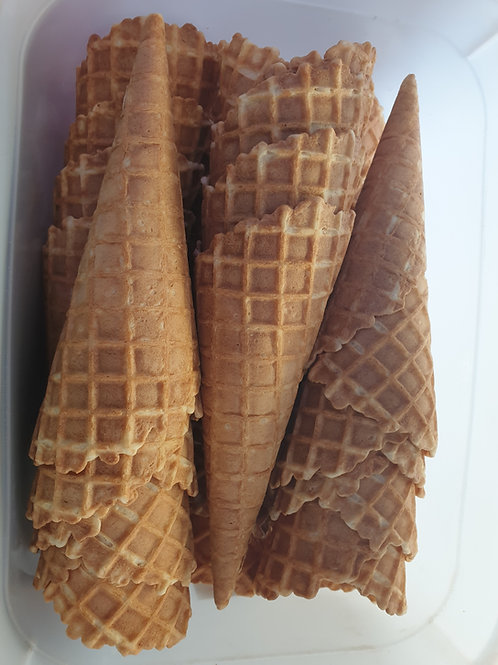 Box of 36 Waffle Cones