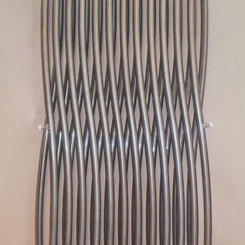 Radiateur TESI peinture bronze 1800 - 403€ TTC