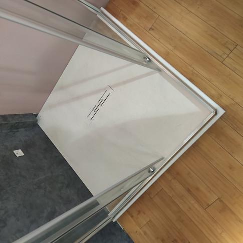 Receveur KINEROCK 90*90 blanc 331.92€ TTC