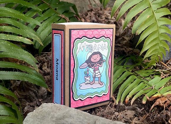 Moana Storybook Paper Playset
