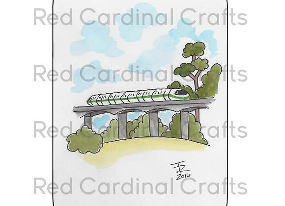 Green monorail