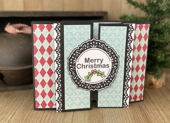 Christmas Card - Tri-shutter Card