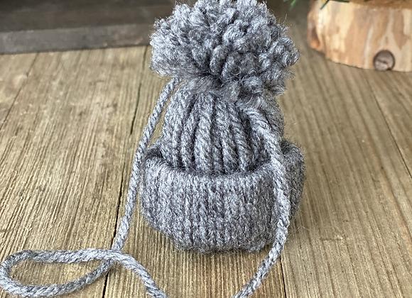 Tree Ornaments - Grey hat