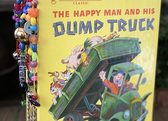 Little Golden Book - The Happy Man and His Dump Truck