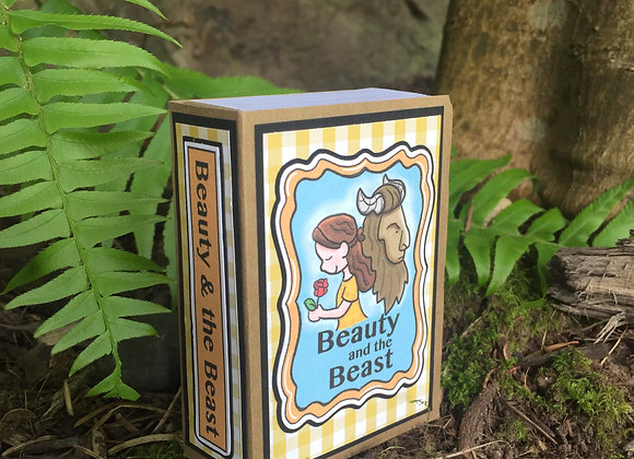 Beauty & the Beast Storybook Paper Playset