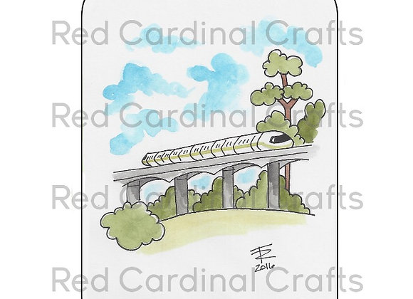 Lime monorail