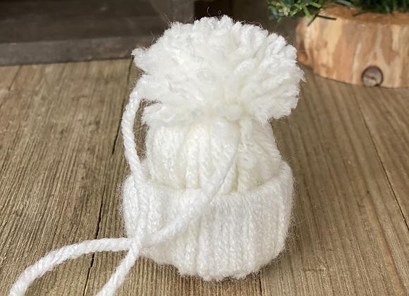 Tree Ornaments - White hat