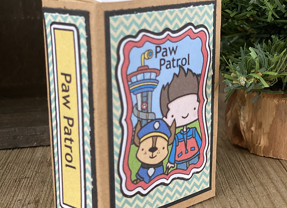 Storybook Paper Playset - Paw Patrol (Digital)
