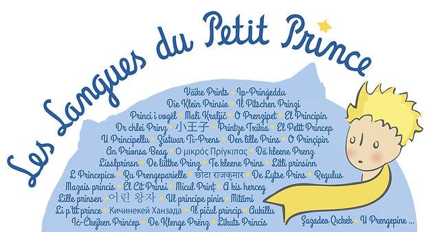 Petit Prince langue étrangères Little Prince foreign languages Principito lenguas extranjeras