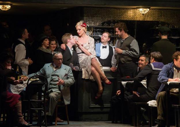 Jennifer Holloway as Musetta at ENO