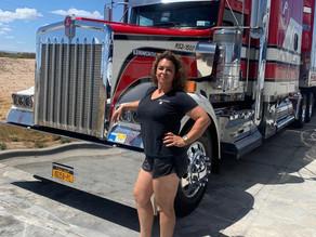 Meet Jacinda Lady Truck'n a Third Generation Truck Driver