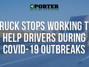 Truck Stops Working to Help Drivers During COVID-19 Outbreaks