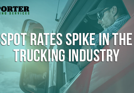 Spot Rates Spike in the Trucking Industry