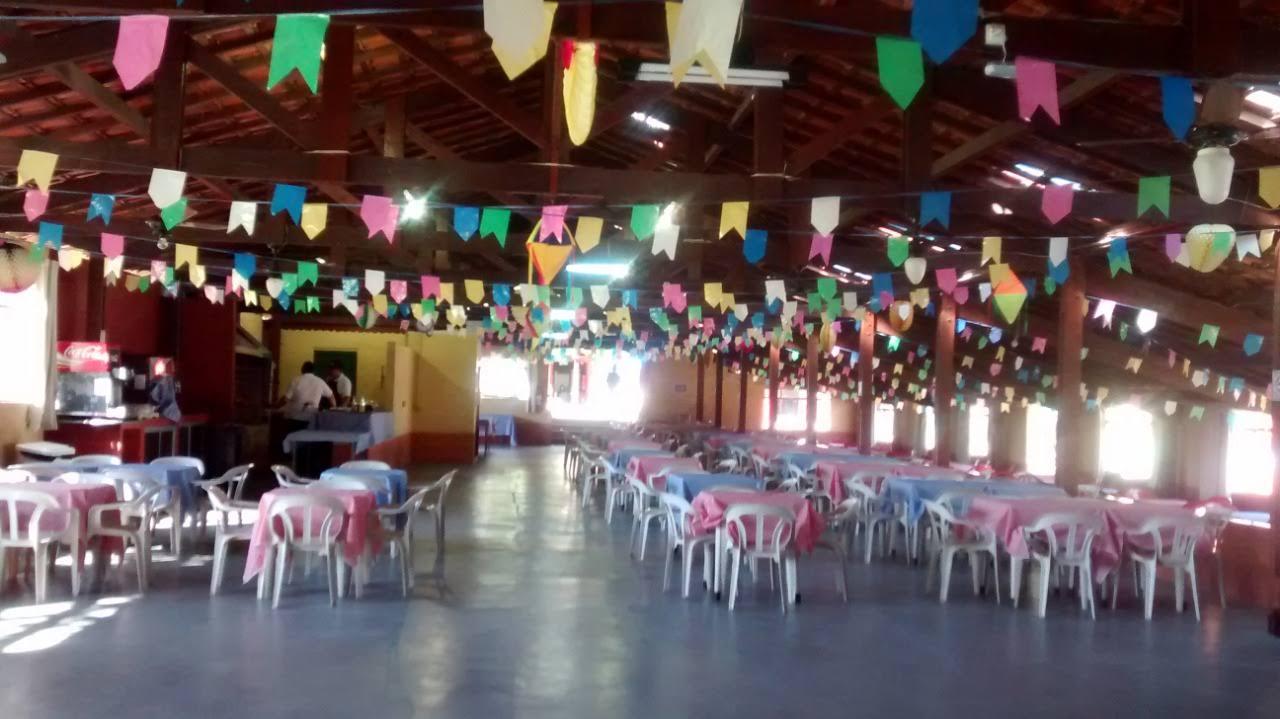 Decoração interna salão principal