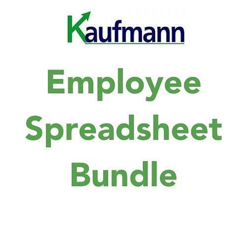 Employee Spreadsheet Bundle
