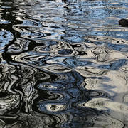 ripples on the water