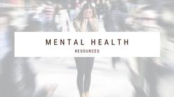 MentalHealthResources