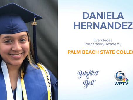 Belle Glade Senior Among the County's Best and Brightest