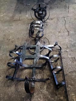 Medieval torture exoskeleton