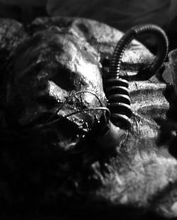 Cyborg head detail