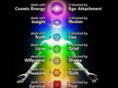 Healing Through The Chakra's Course
