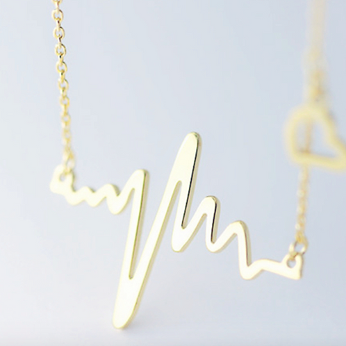 Electric Heart Necklace