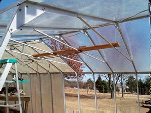 Greenhouse reglazing