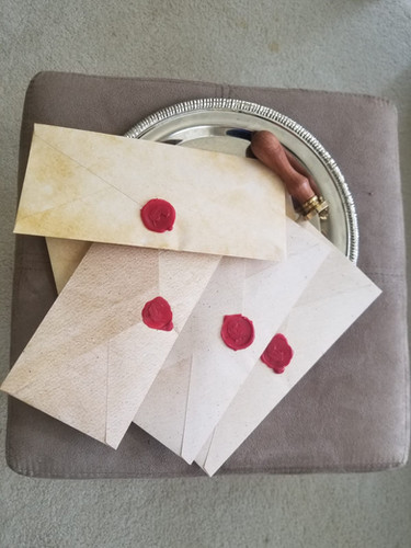 Letters for winners
