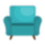 Blueish Arm Chair.png
